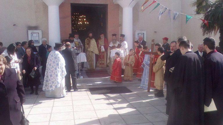 Λαμπρός ο εορτασμός της Κυριακής της Ορθοδοξίας